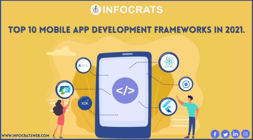 Top 10 Mobile App Development Frameworks In 2021